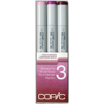 Copic Sketch Marker BLENDING TRIO 3 Set Three 53478