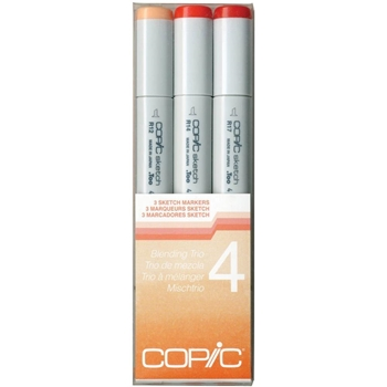 Copic Sketch Marker BLENDING TRIO 4 Set Four 53485