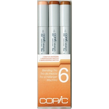 Copic Sketch Marker BLENDING TRIO 6 Set Six 53508