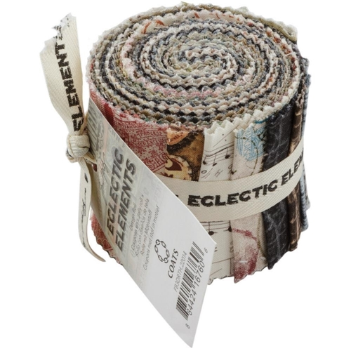 Tim Holtz Fabric Eclectic Elements 16760 DESIGN ROLL 13PC Preview Image