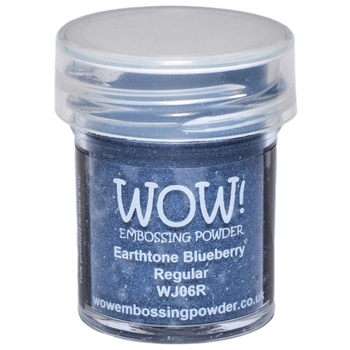 WOW Embossing Powder EARTHTONE BLUEBERRY REGULAR WJ06R
