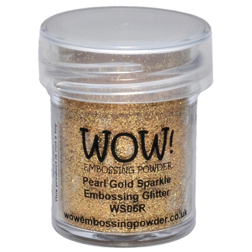 WOW Embossing Glitter PEARL GOLD SPARKLE REGULAR WS06R Preview Image