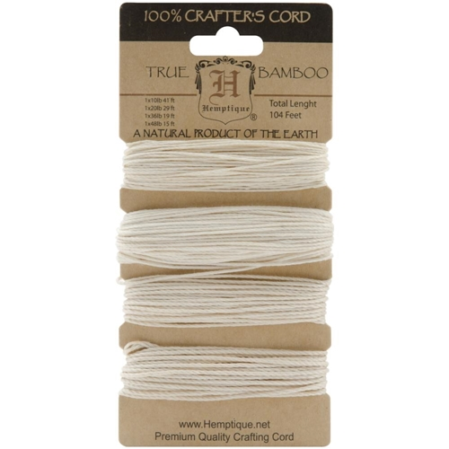 Hemptique NATURAL Bamboo Cord Set 029225 Preview Image