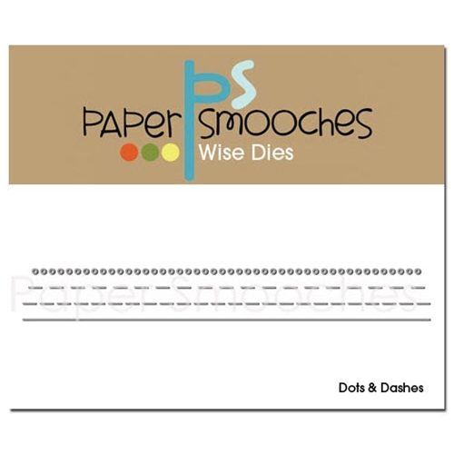 Paper Smooches DOTS AND DASHES Wise Dies Preview Image
