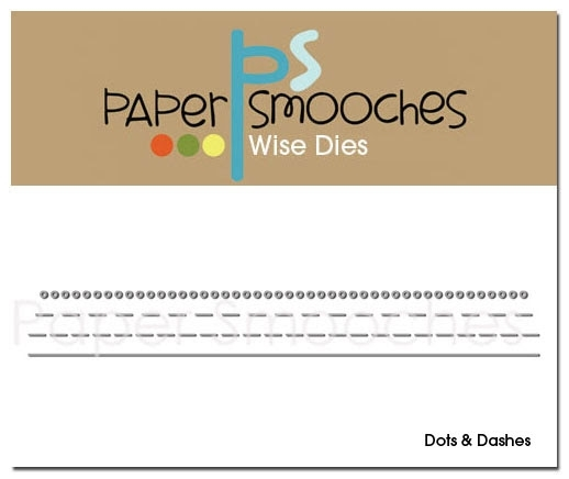 Paper Smooches DOTS AND DASHES Wise Dies zoom image