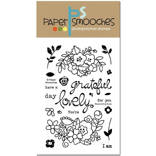 Paper Smooches BLOSSOMING BUDS Clear Stamps* Preview Image