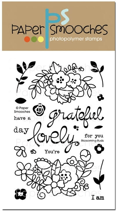 Paper Smooches BLOSSOMING BUDS Clear Stamps* zoom image