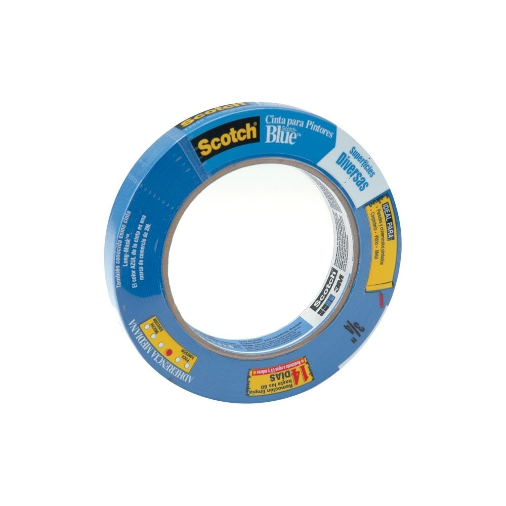 3M Scotch SAFE RELEASE MASKING PAINTER'S TAPE Blue 03680 zoom image