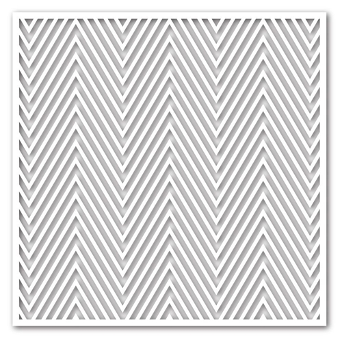 Simon Says Stamp Stencil ZIG ZAG ssst121355 This is the Life * Preview Image