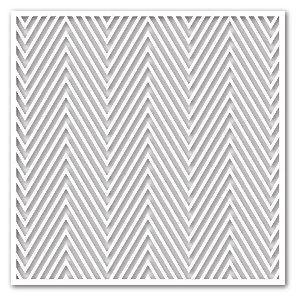 Simon Says Stamp Stencil ZIG ZAG ssst121355 This is the Life * zoom image