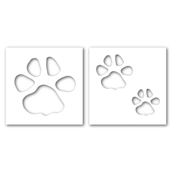 Simon Says Stamp Stencils PAWPRINT ssst121356 This is the Life