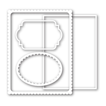 Simon Says Stamp FRAMES Wafer Dies sssd111373 This is the Life