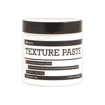 Ranger TEXTURE PASTE Opaque Matte 4oz INK44444
