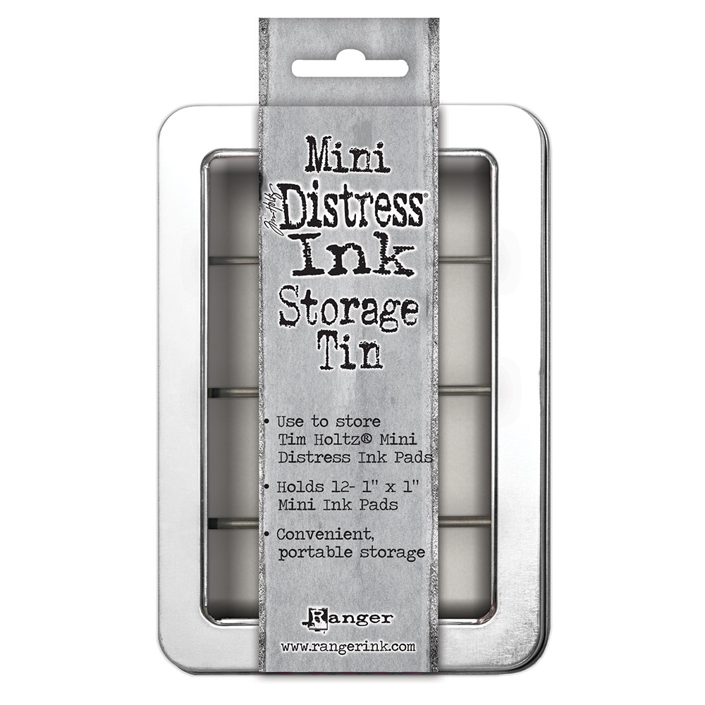 Tim Holtz MINI DISTRESS INK STORAGE TIN Ranger TDA42013 zoom image