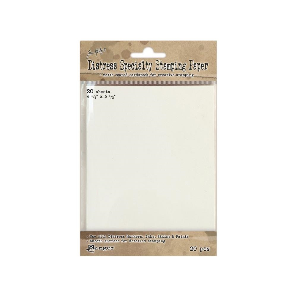 Tim Holtz DISTRESS SPECIALTY STAMPING PAPER Ranger TDA42099 zoom image