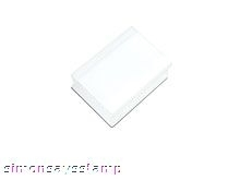 Hero Arts CLEAR ACRYLIC BLOCK 2 x 1.5 Cleardesign cl073 Preview Image