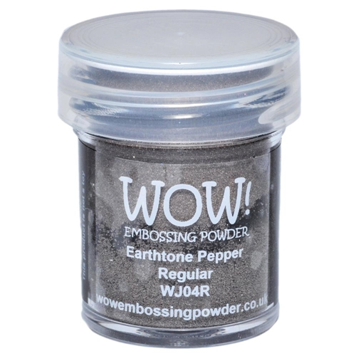 WOW Embossing Powder EARTHTONE PEPPER REGULAR WJ04R Preview Image