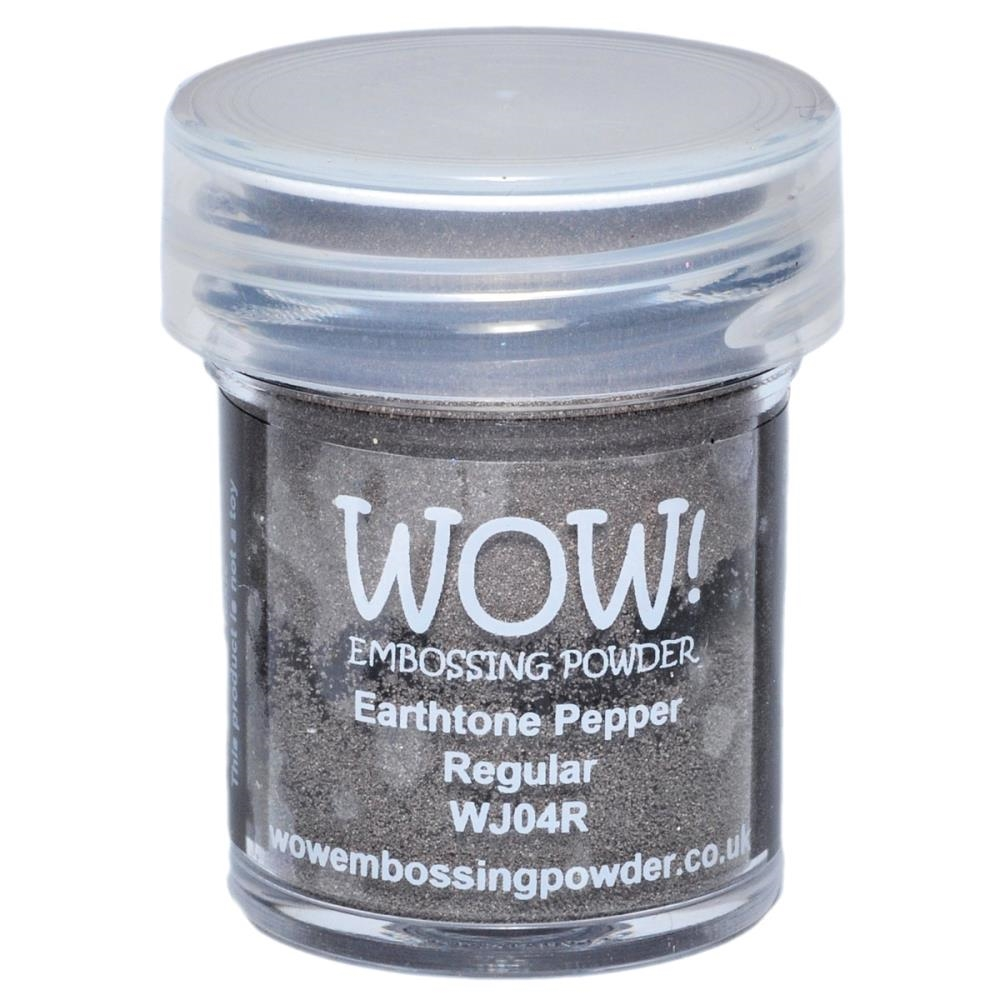 WOW Embossing Powder EARTHTONE PEPPER REGULAR WJ04R zoom image