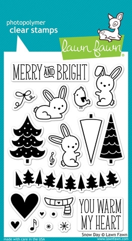 Lawn Fawn SNOW DAY Clear Stamps LF723 zoom image