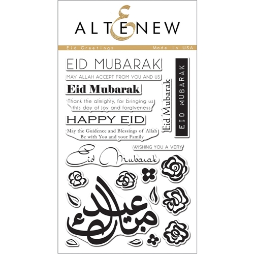 Altenew EID GREETINGS Clear Stamp Set ALT1059 Preview Image