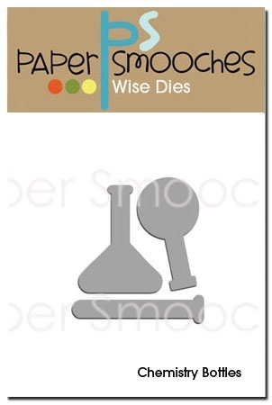 Paper Smooches CHEMISTRY BOTTLES Wise Dies zoom image