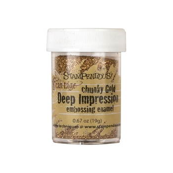 Stampendous CHUNKY GOLD DEEP IMPRESSION Embossing Enamel FREG046