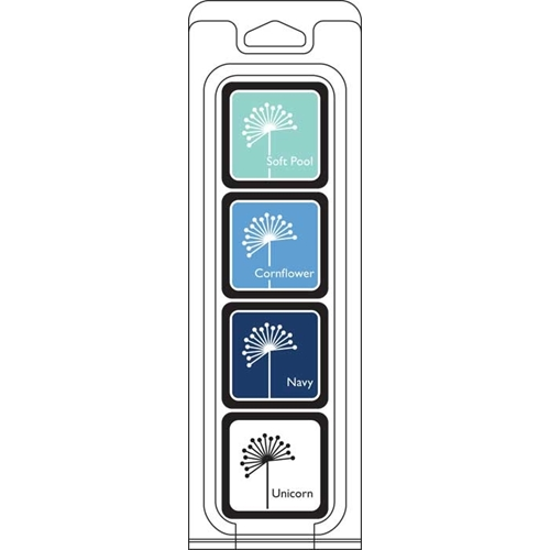 Hero Arts Mini Cube Ink Pads Set WINTER Four Pack AF296  Preview Image