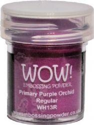 WOW Embossing Powder PRIMARY PURPLE ORCHID REGULAR WH13R