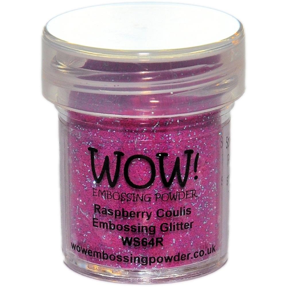 WOW Embossing Glitter RASPBERRY COULIS WS64R zoom image