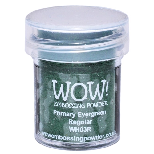 WOW Embossing Powder PRIMARY EVERGREEN REGULAR WH03R Preview Image