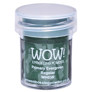 WOW Embossing Powder PRIMARY EVERGREEN REGULAR WH03R