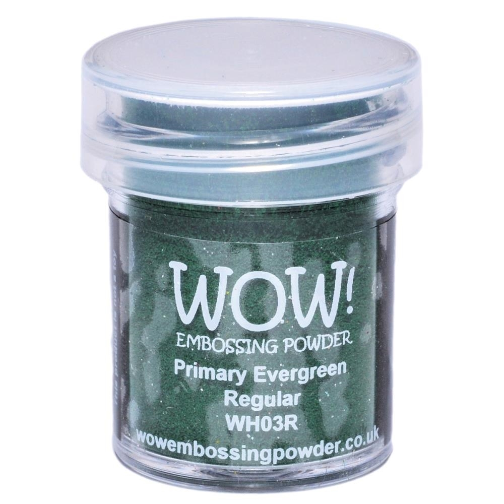 WOW Embossing Powder PRIMARY EVERGREEN REGULAR WH03R zoom image