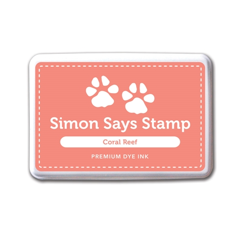 Simon Says Stamp Premium Dye Ink Pad CORAL REEF Peach Ink027 Preview Image