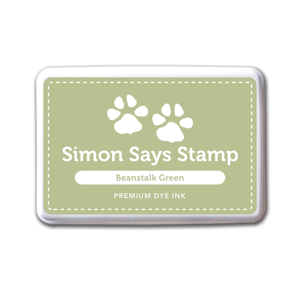 Simon Says Stamp Premium Dye Ink Pad BEANSTALK GREEN Ink028 zoom image