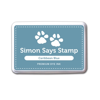 Simon Says Stamp Premium Dye Ink CARIBBEAN BLUE Ink031