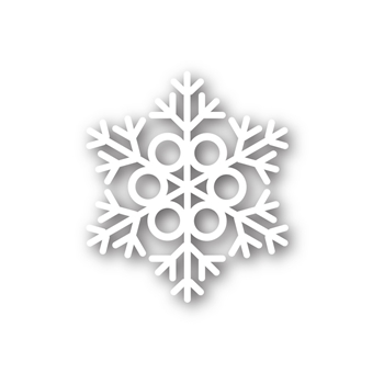 Simon Says Stamp MELODY SNOWFLAKE Wafer Die sssd111387