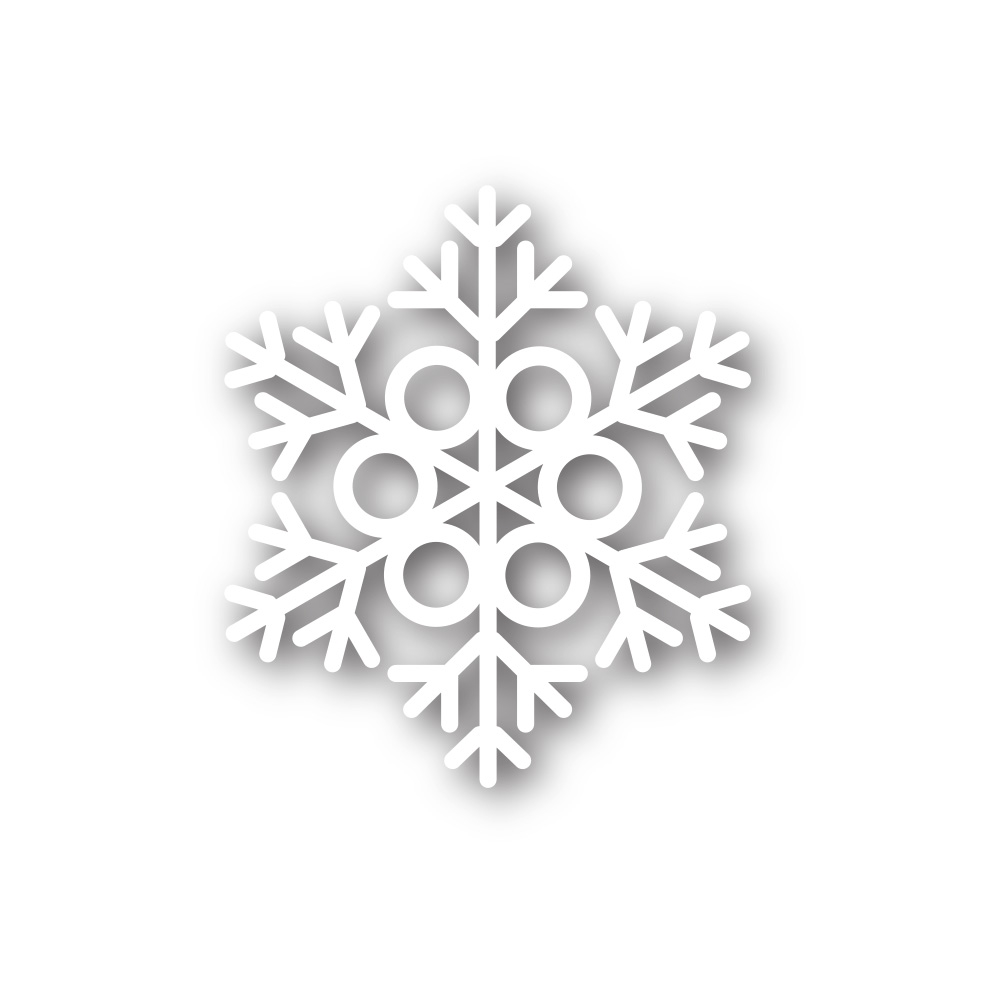 Simon Says Stamp MELODY SNOWFLAKE Wafer Die sssd111387 zoom image