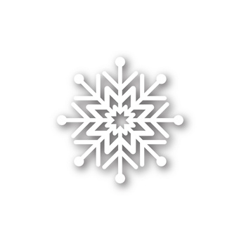 Simon Says Stamp ABBY SNOWFLAKE Wafer Die sssd111388