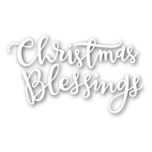 Simon Says Stamp CHRISTMAS BLESSINGS Wafer Die sssd111380 Preview Image