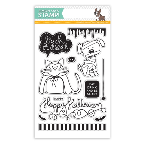 Simon Says Clear Stamps TRICK OR TREAT sss101444 Preview Image