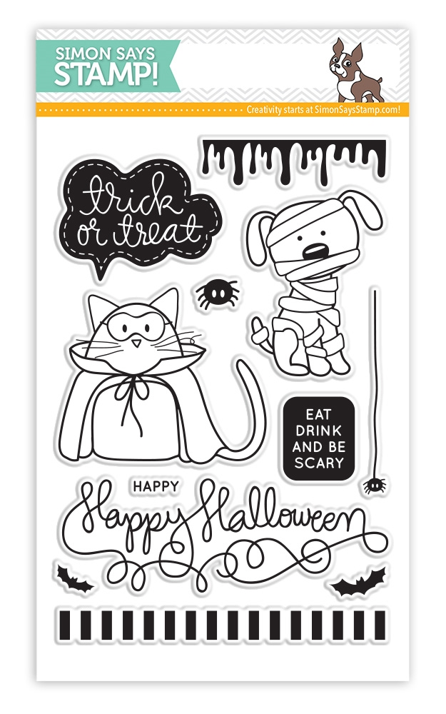 Simon Says Clear Stamps TRICK OR TREAT sss101444 zoom image