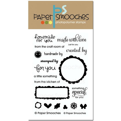Paper Smooches JUST FOR YOU Clear Stamps SES222* Preview Image