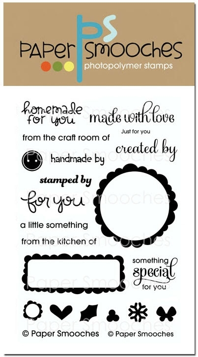 Paper Smooches JUST FOR YOU Clear Stamps SES222* zoom image