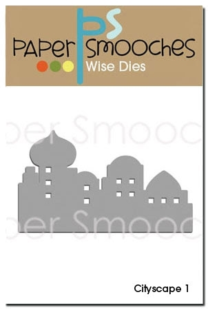 Paper Smooches CITYSCAPE 1 Wise Die SED162 Preview Image