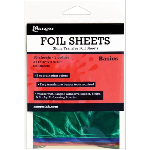 Ranger BASICS Shiny Transfer Foil Sheets ISF40552 Preview Image