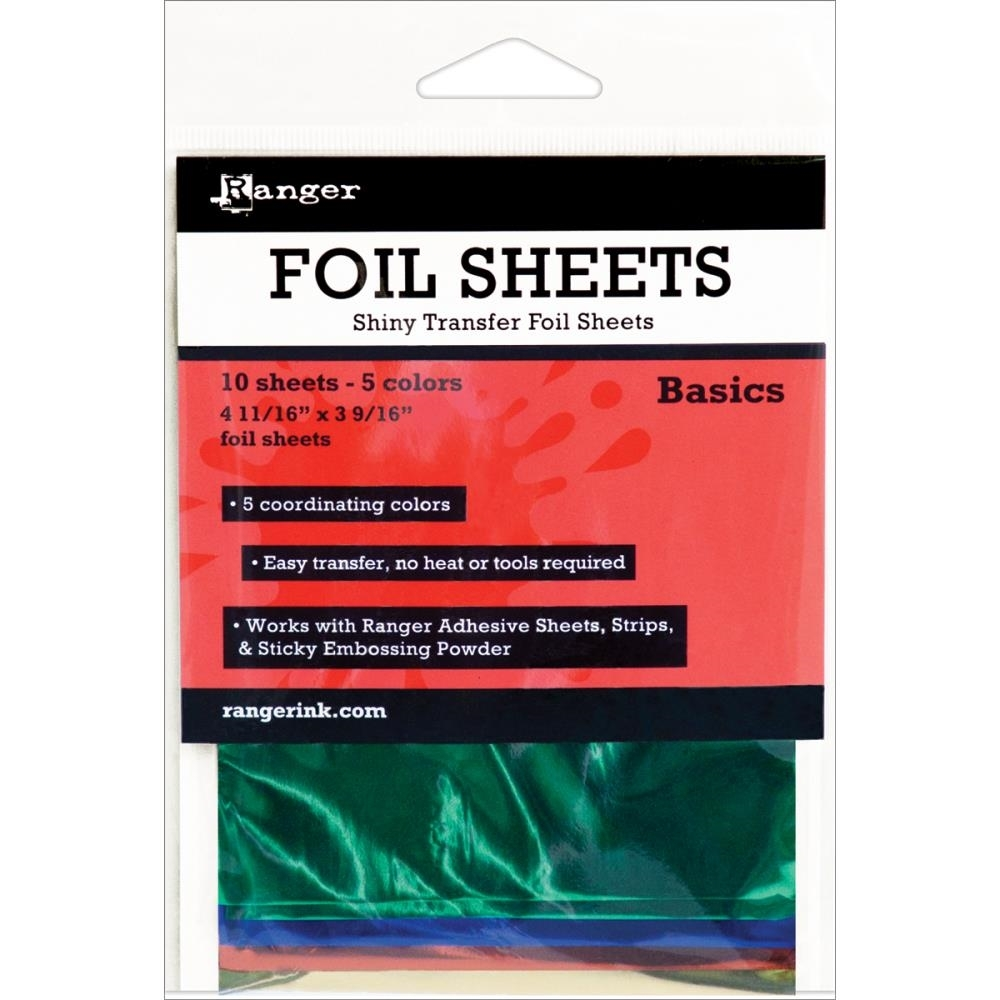 Ranger BASICS Shiny Transfer Foil Sheets ISF40552 zoom image