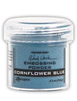 Ranger Wendy Vecchi Embossing Powder CORNFLOWER BLUE WEP43881 zoom image