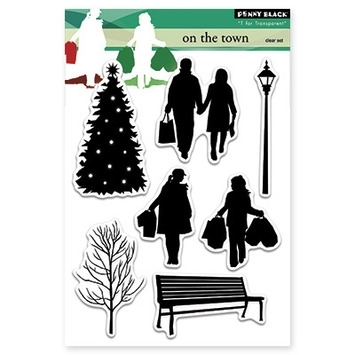 Penny Black Clear Stamps ON THE TOWN 30-260 Preview Image