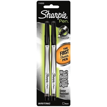 Sharpie BLACK FINE POINT Writing Pens 1742659
