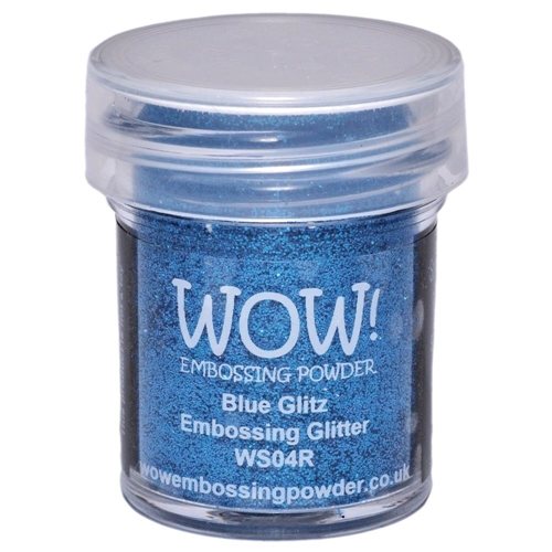 WOW Embossing Glitter BLUE GLITZ WS04R Preview Image